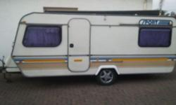 FOR SALE KEMPSTON SPRITE SPORT CARAVAN 1984 MODEL STILL
