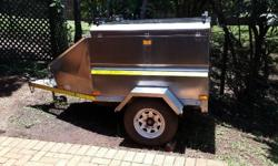 For Sale - Stainless Steel off road trailer Immaculate