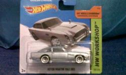 1963 Aston Martin DB5 hot wheels model car from the