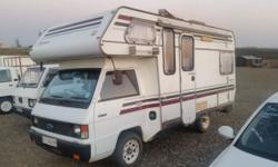 1990 Ford Explorer camper with genuine 33 000km. Two