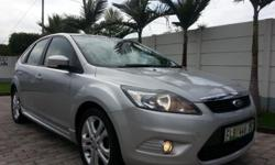 2010 Ford Focus 1.8 SI 5-DR with 79 700km on the clock.