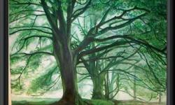 Painting name : FOREST Medium : Oil on Canvas Size :
