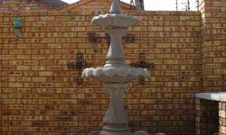 Large Garden Fountain For Sale R2200.00   Beautiful