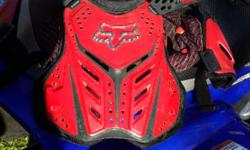 Fox Chest Protector for Kids (Red) Very Neat Only R 350
