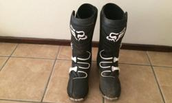 Fox F3 Boots for sale, practically bran new, used them