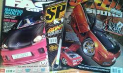 Beskrywing Giveing away my old speed &sound magazines