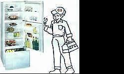 I repairs,all fridges and freezers(Domestic and