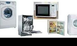 All home appliance repairs done onsite same day (free