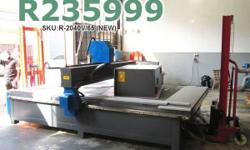 EasyRoute 2000�4000 High-Torque 6.5kW CNC Wood Router