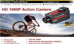 The new HD outdoor action camera captures beautiful