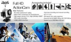 The new Eagleye Full HD 1080P W-Fi Action Cam lets you