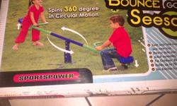 Bounce-Go-Round See Saw 4 months old, still have box