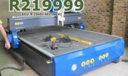 EasyRoute 2000�4000 High-Torque 4.5kW CNC Wood Router