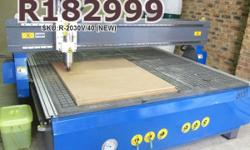 EasyRoute 2000�3000 4kW CNC Wood Router Complete Set,