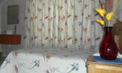 Fully furnished room available in 2 bedroom garden flat