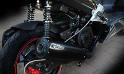 G Flow Performance Vuka T 125 Exhaust Pipe