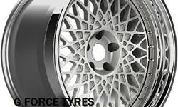 "G FORCE TYRES ---- HRE MESH 15"" 4-100 8J AVAIL IN BLACK"