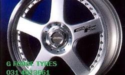 "G FORCE TYRES-- 17"" 4-100 LENSO CONCEPT 5 !!!!  THE"
