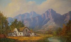 Beskrywing Gabriel De Jongh -Oil on Canvas - 90 x 60 -