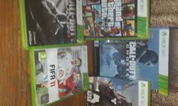 All Games for sale: R1800.00