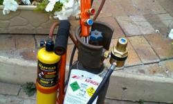GAS WELDING AFROX OXYGEN (PROPANE OR MAPP GAS ) SET IN