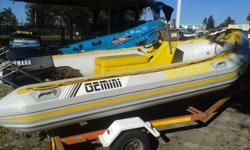 Powered by a 40HP Yamaha motor, Center Console with