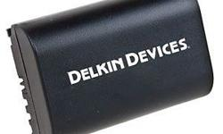 Description Delkin's non-OEM LPE-6 rechargeable battery