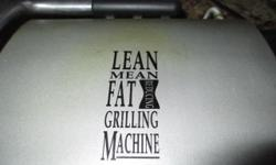Lean Mean fat Machine - George Foreman Grill - hardly