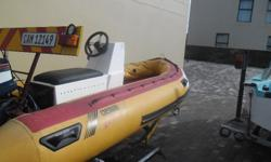 Germini 4m and 55 HP Yam for sale. Call Leon Brand on