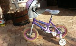 Soort: Bicycle Soort: Girls Pink Bicycle. For Sale with
