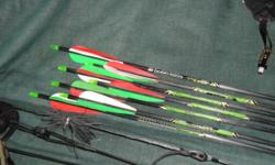 Beskrywing Soort: Sports 70 lb Hunting bow complete.