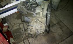 Beskrywing Gearbox for a Golf 5 1.9 TDI, Excellent