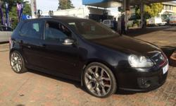 2005 golf 5 GTI Vehicle has all the bells and