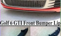 Golf 6 GTI carbon bumper lip R3000 incl delivery to