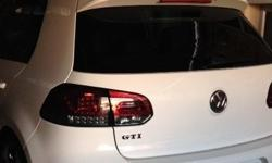 Golf 6 LED Smoked Tail Lights for sale. 1 year old. As
