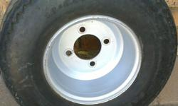 "8"" Golf cart rim and Tyre(18X8.50-8) very good"