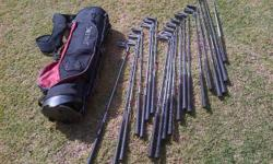 Golf clubs - Stratos & Tiger Shark with Bag