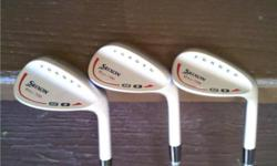 Soort: Golf Srixon Wedge Set (WG-706) 52° , 56° & 58° ,