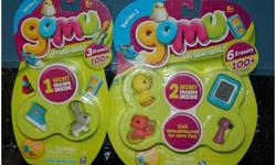 Gomu collectable Erasers available, new. They make