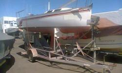 19 ft TLC Open version with Road Trailer Fast Yacht if