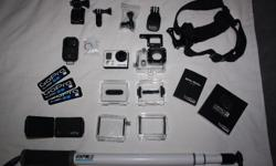 GoPro Hero 3 Black Edition with housing (waterproof and