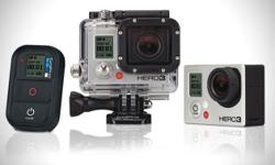 I have a few GoPro 3 Black Edition for sale. They have