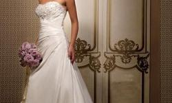 Beskrywing Gorgeous brand new wedding dresses size