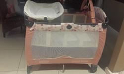 I have a Graco Contour Electra campcot for sale. It has