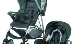 Used Graco Mirage Plus Travel System in good condition.