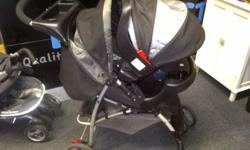 Graco Mirage travel system including stroller and