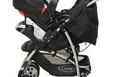 Graco mirage travel system. Good condition, a few