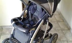 Grey Graco pram for sale. In very good condition.