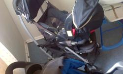 Graco pram with snug and safe chair for infant. New it