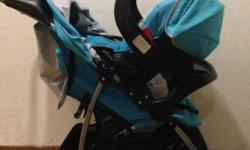 Very good condition Graco pram and car seat for sale.
